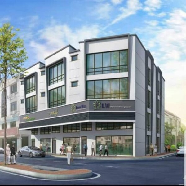 3 Storey Shop Lot@, Jelutong For Sale Cover Image